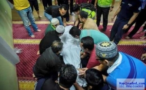 Photos: Man Dies While Reciting The Holy Quran At A Mosque